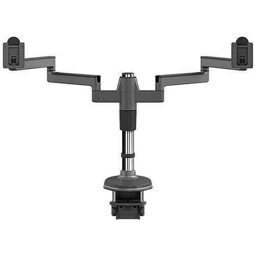 HumanScale MF2DS M/Flex Dual Monitor Arm Grey