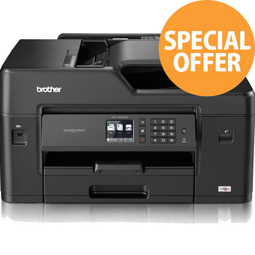 Brother MFC-J6530DW A3 All in One Inkjet Printer - A3 Print, Copy, Scan and Fax -  Automatic Double Sided Printing - Wired and Wireless Connectivity