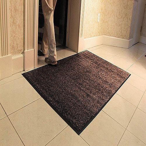 Millennium Mat Platinum Series Floor Mat 910 x 1520mm Brown 84030550