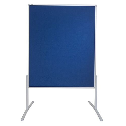 Franken PRO Training Board Blue Felt Double Sided 1200x1500mm MT800303