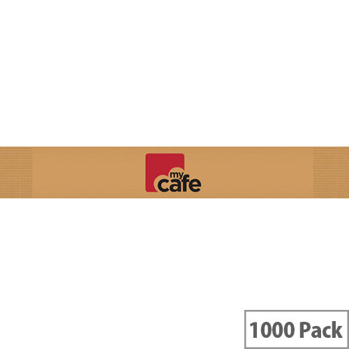 MyCafe Sugar Sticks Brown Pack of 1000 21SJ8146