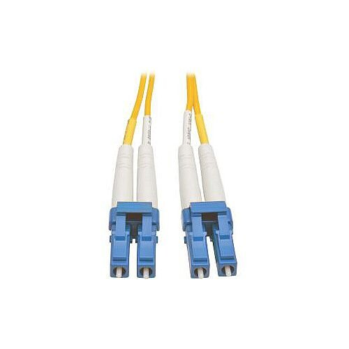 Tripp Lite Fibre Optic Network Cable 1 m 2 x LC Male 2 x LC Male Patch Cable Yellow N370-01M