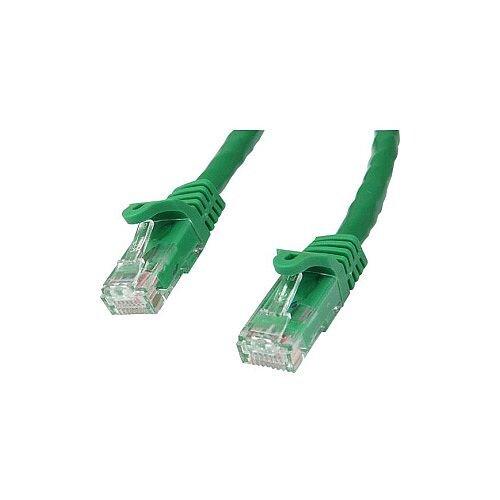 StarTech 1m Green Gigabit Snagless RJ45 UTP Cat6 Patch Cable 1 m Patch Cord 1 x RJ-45 Male Network 1 x RJ-45 Male Network Patch Cable Gold Plated Contact Green