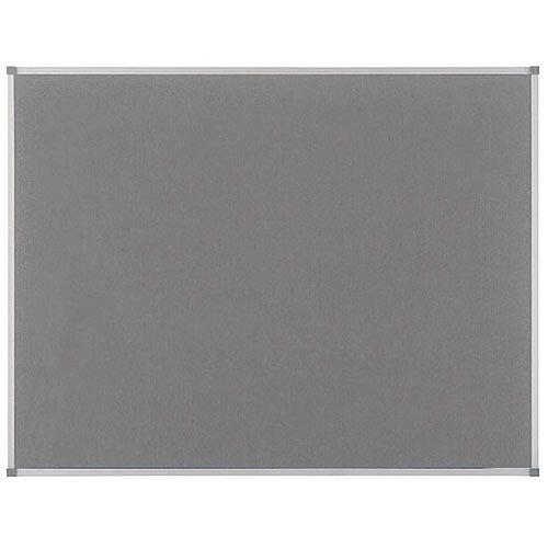 Nobo Elipse Notice Board Felt 1800x1200mm Grey