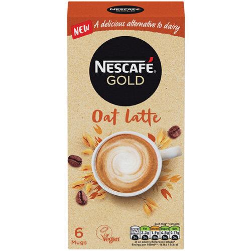 Nescafe Gold Oat Latte 16g Pack of 30 12429920