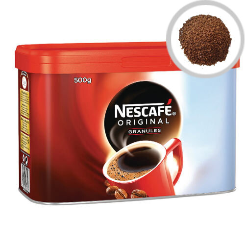 Nescafe Original Instant Coffee Granules Tin 500g Pack of 1 12295139