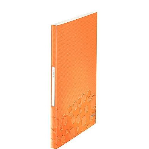 Leitz WOW Display Book 20 Pockets Orange