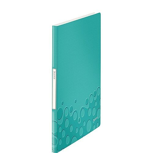 Leitz WOW Display Book 20 Pockets Ice Blue