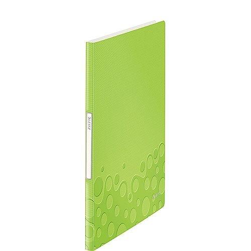 Leitz WOW Display Book 20 Pockets Green