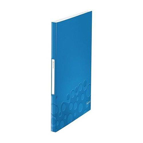 Leitz WOW Display Book 40 Pockets Blue