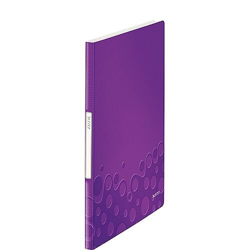 Leitz WOW Display Book 40 Pockets Purple