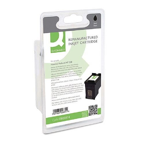 HP No 338 Compatible Black Ink Cartridge C8765EE Q-Connect
