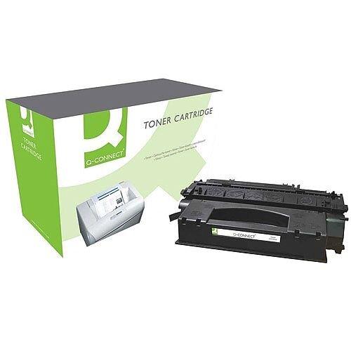 HP 49X Compatible Black High Capacity Toner Cartridge Q5949X Q-Connect