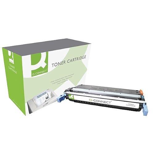 HP 645A Compatible Cyan Laser Toner Cartridge C9731A Q-Connect