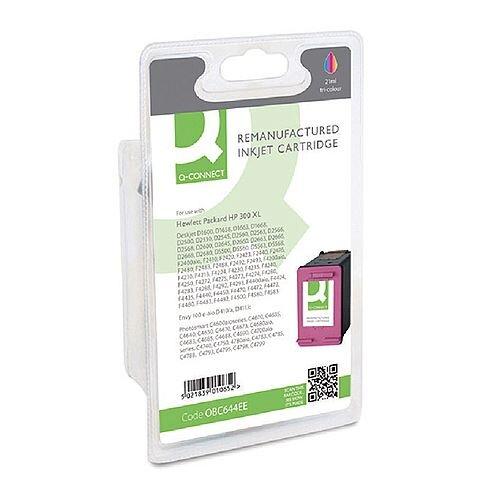HP 300XL Compatible 3-Colour Ink Cartridge CC644EE Q-Connect