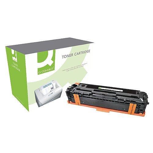 Q-Connect HP 128A Compatible Black LaserJet Toner Cartridge CE320A