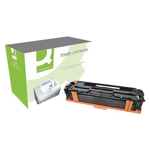 Q-Connect HP 128A Compatible Cyan LaserJet Toner Cartridge CE321A