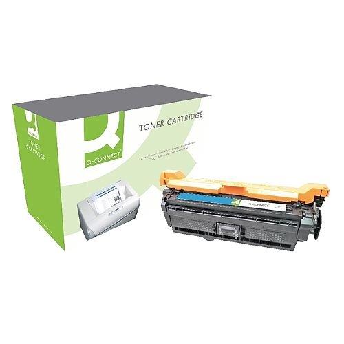 HP 507A Compatible Cyan Laser Toner Cartridge CE401A Q-Connect
