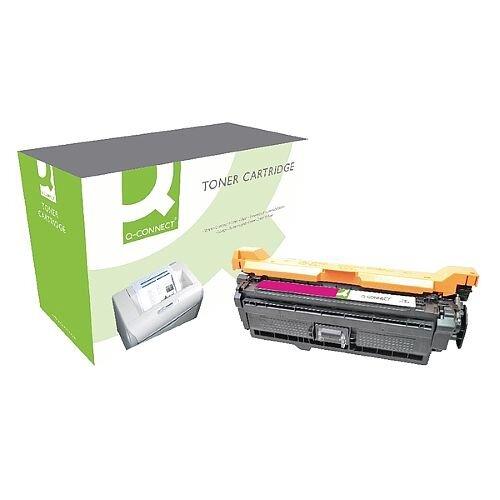 HP 507A Compatible Magenta Laser Toner Cartridge CE403A Q-Connect