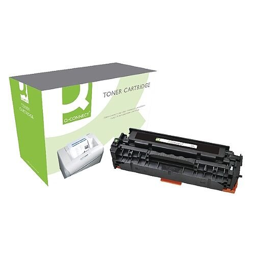 HP 305A Compatible Black Laser Toner Cartridge CE410A Q-Connect