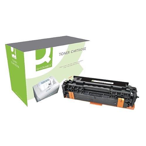 HP 305A Compatible Cyan Laser Toner Cartridge CE411A Q-Connect