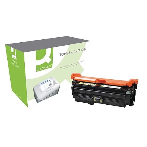 HP 653A Compatible Yellow Toner Cartridge CF322A Q-Connect