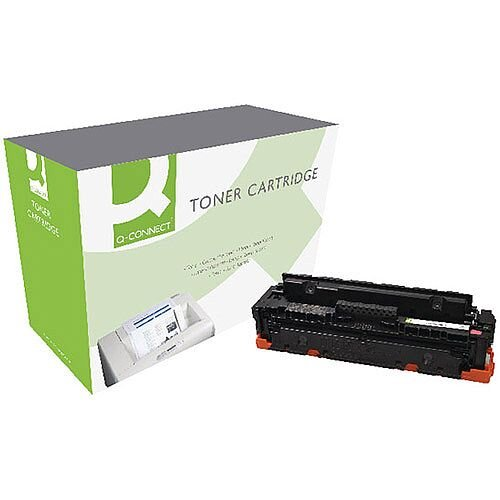 Q-Connect HP CF413X M452 Laser Toner Cartridge High Yield Magenta CF413X-COMP