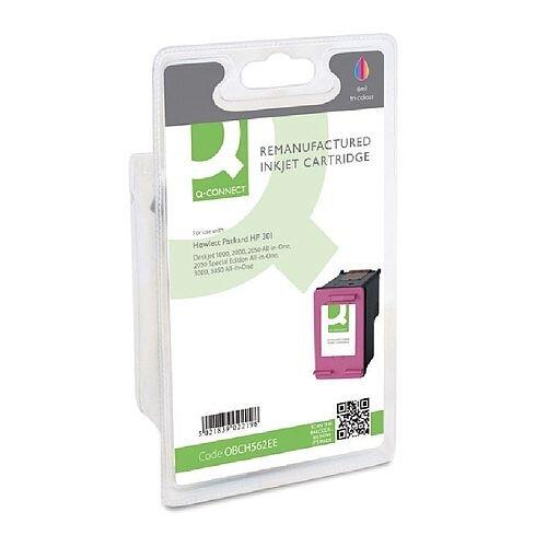 HP 301 Compatible Tri-Colour Inkjet Cartridge CH562EE Q-Connect