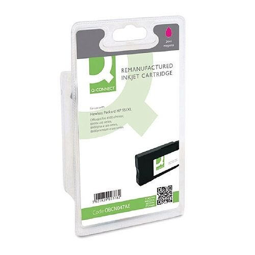 HP 951XL Compatible Magenta High Capacity Inkjet Cartridge CN047AE Q-Connect