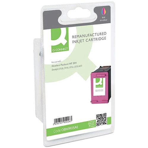 Q-Connect HP 304 Ink Cartridge 3 Colour N9K05AE-COMP