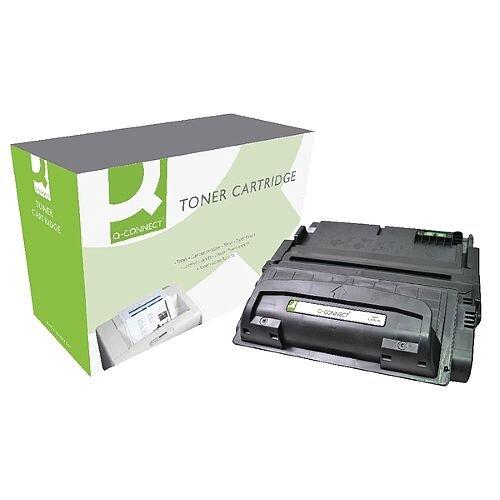 HP 42A Compatible Black Laser Toner Cartridge Q5942A Q-Connect