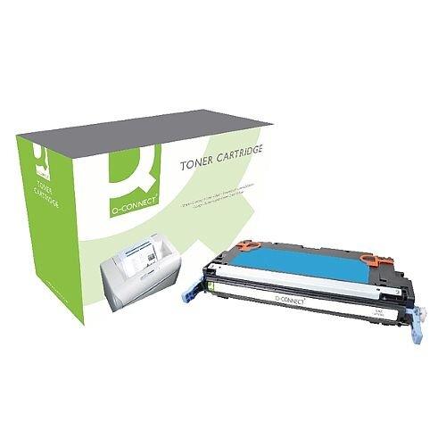 HP 503A Compatible Cyan Laser Toner Q7581A Q-Connect