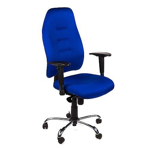 Positura Heavy Duty Task Operator Office Armchair Blue