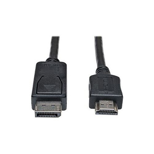 Tripp Lite P582-010 DisplayPort/HDMI A/V Cable for Audio/Video Device Monitor TV 3.05 m