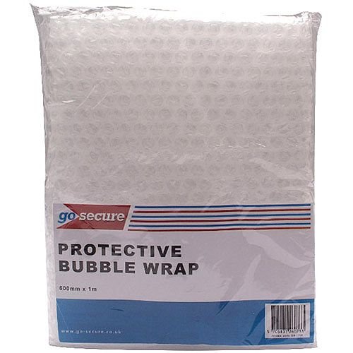 Go Secure Bubble Wrap Sheets 600mmx1m Pack of 10 PB02290