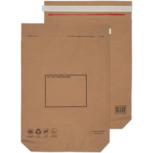 GoSecure Kraft Paper Mailer Bags 480x380x80mm Pack of 100 KMB1166