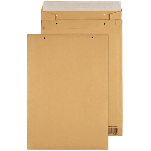 GoSecure Manilla E4 Gusset Pocket Envelope 140gsm Pack of 100 REPDE4