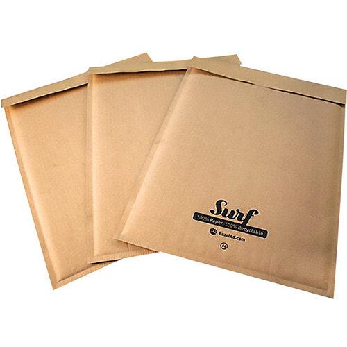GoSecure Size G4 Surf Kraft Paper Mailer 240mmx330mm Pack of 100 SURFG4K