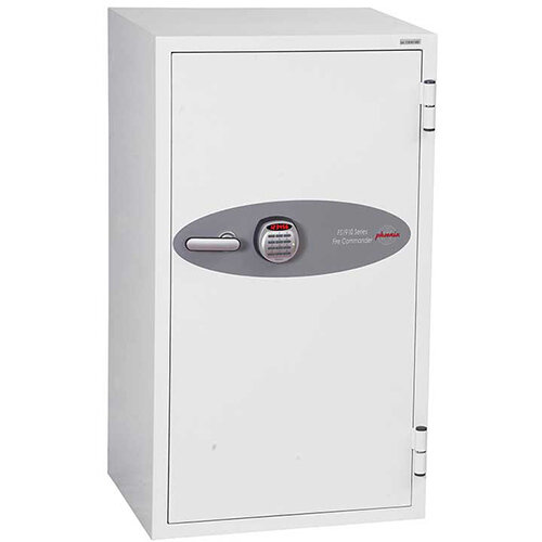 Phoenix Fire Commander FS1911E 220L Fireproof Safe With Electronic Lock White