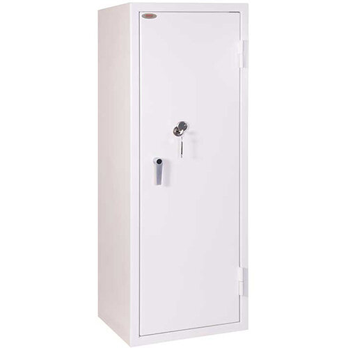 Phoenix Securstore SS1163K 385L Security Safe With Key Lock White
