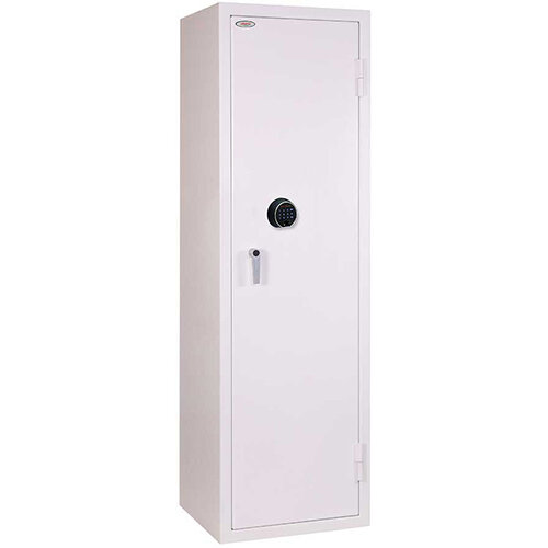 Phoenix Securstore SS1164F 457L Security Safe With Electronic Fingerprint Lock White