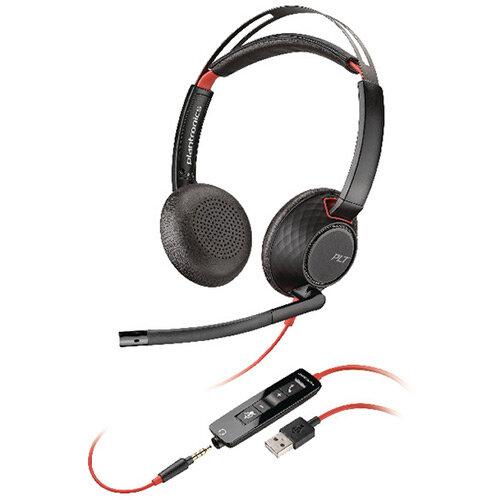 Plantronics Blackwire 5220 C5220 WW Headset 207576-01