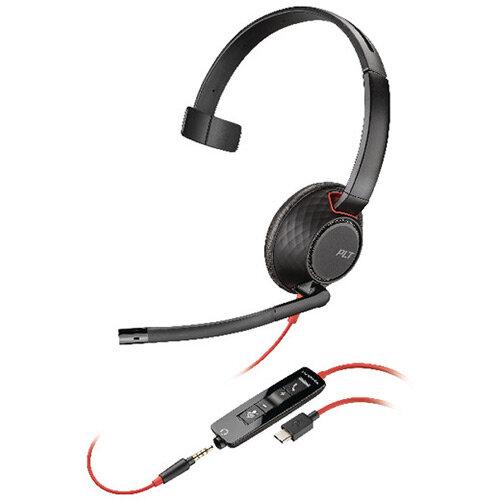 Plantronics Blackwire 5210/C5210 USB-C WW Headset 207587-01