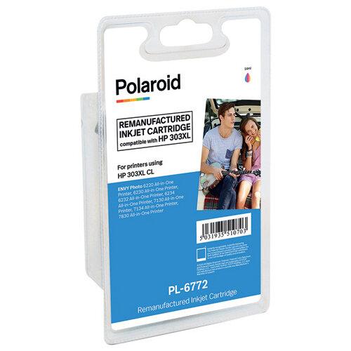 Polaroid HP 303XL Colour Inkjet Cartridge T6N03AE-COMP