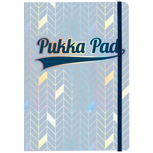 Pukka Pad Glee Journal Pad A5 Light Blue Pack of 3 8684-GLE
