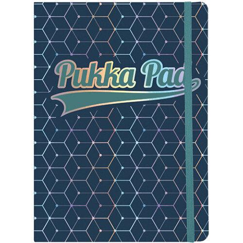 Pukka Pad Glee Journal Pad A5 Dark Blue Pack of 3 8685-GLE