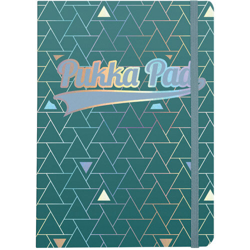 Pukka Pad Glee Journal Pad A5 Green Pack of 3 8686-GLE