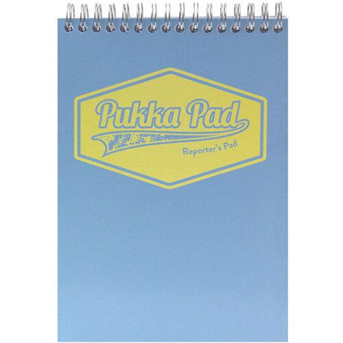 Pukka Pad Pastel Reporters Pad 140x205 Pack of 3 8907-PST