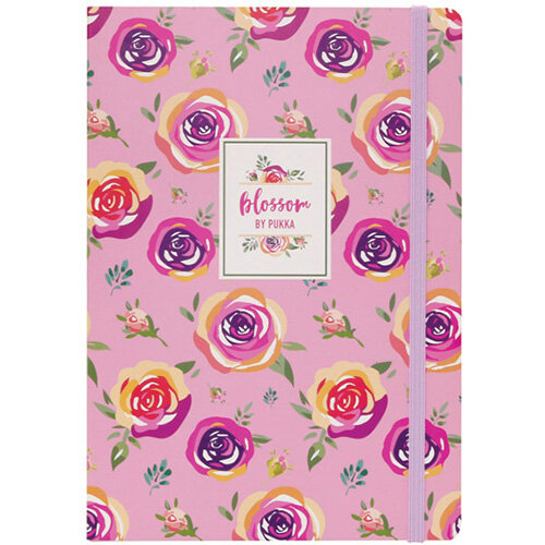 Pukka Pad Blossom Notebook Pack of 3 8649 AST -BLO