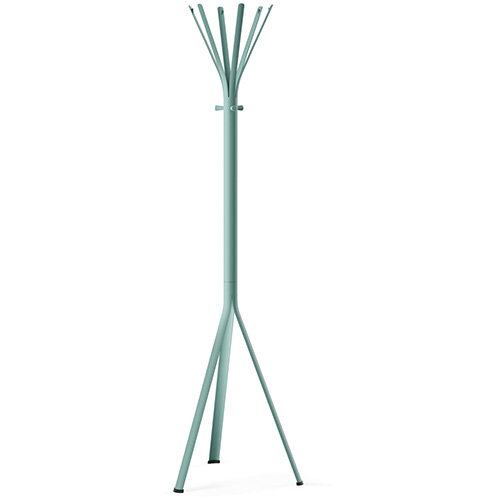 NINE Turquoise Coat Stand with Matching Hooks